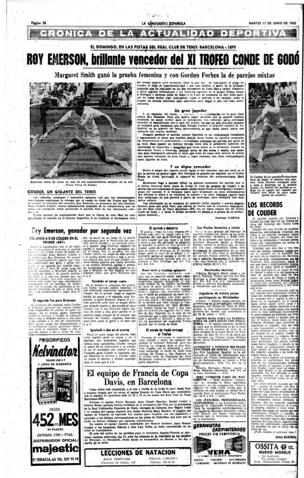1963 La Vanguardia 11 junio