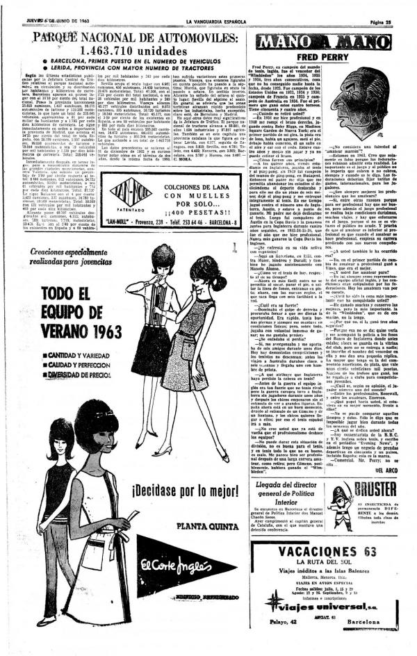 1963 La Vanguardia 6 junio