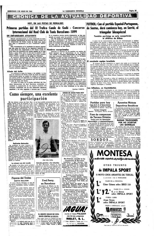 1963 La Vanguardia 5 junio