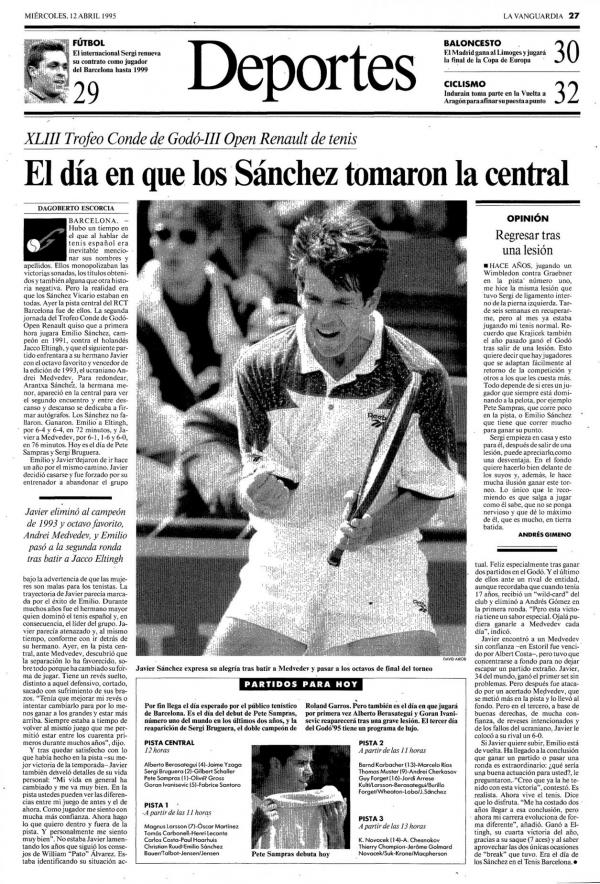 1995 La Vanguardia 12 abril