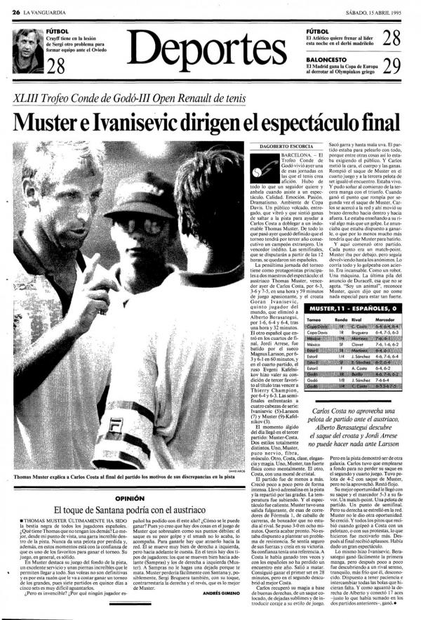 1995 La Vanguardia 15 abril