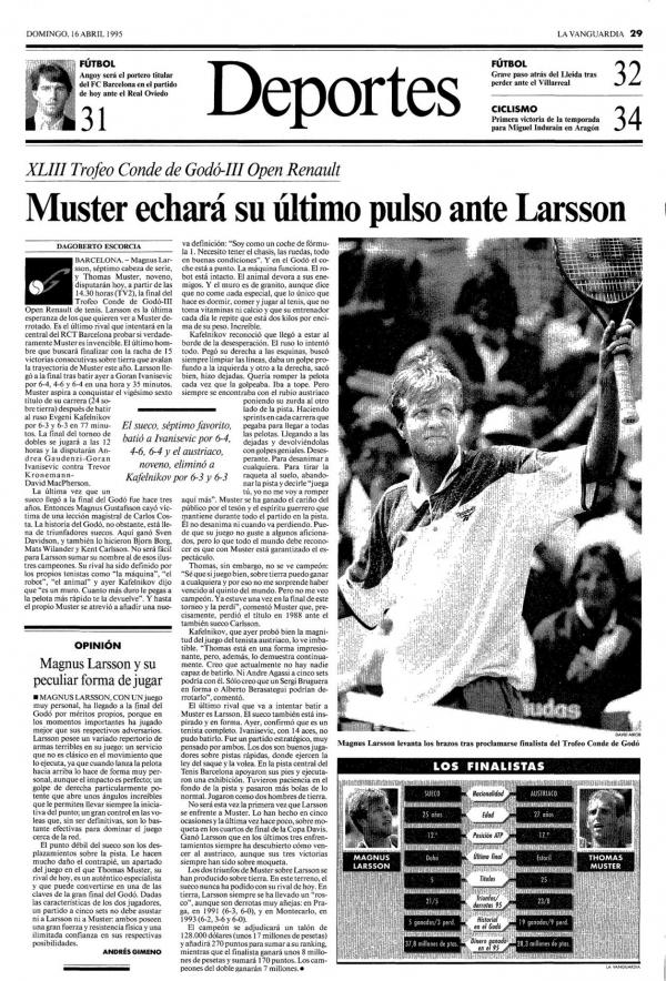1995 La Vanguardia 16 abril