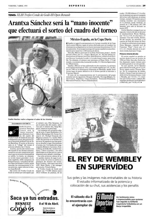 1995 La Vanguardia 7 abril