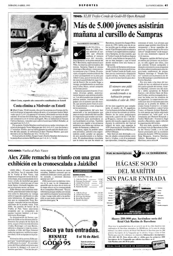 1995 La Vanguardia 8 abril