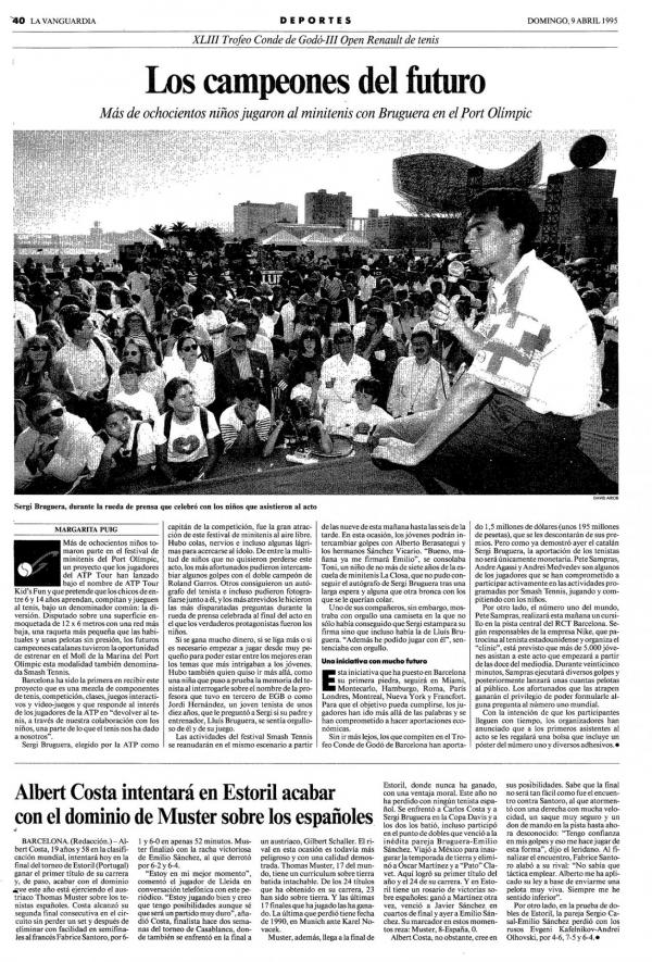 1995 La Vanguardia 9 abril