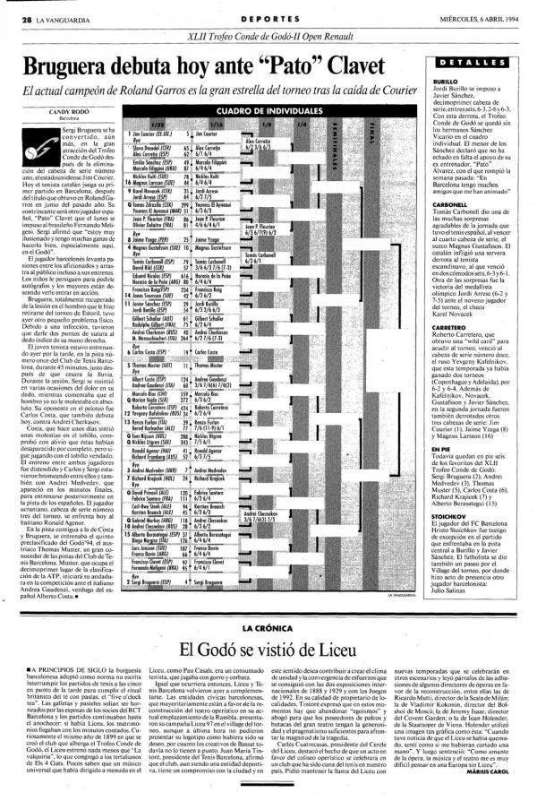 1994 La Vanguardia 6 abril