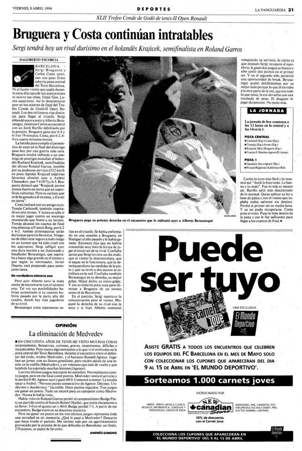 1994 La Vanguardia 8 abril