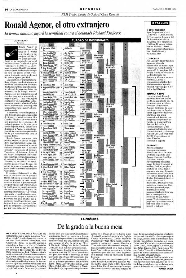 1994 La Vanguardia 9 abril