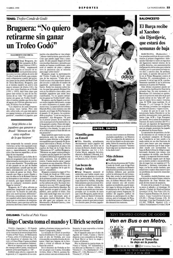 1998 La Vanguardia 9 abril