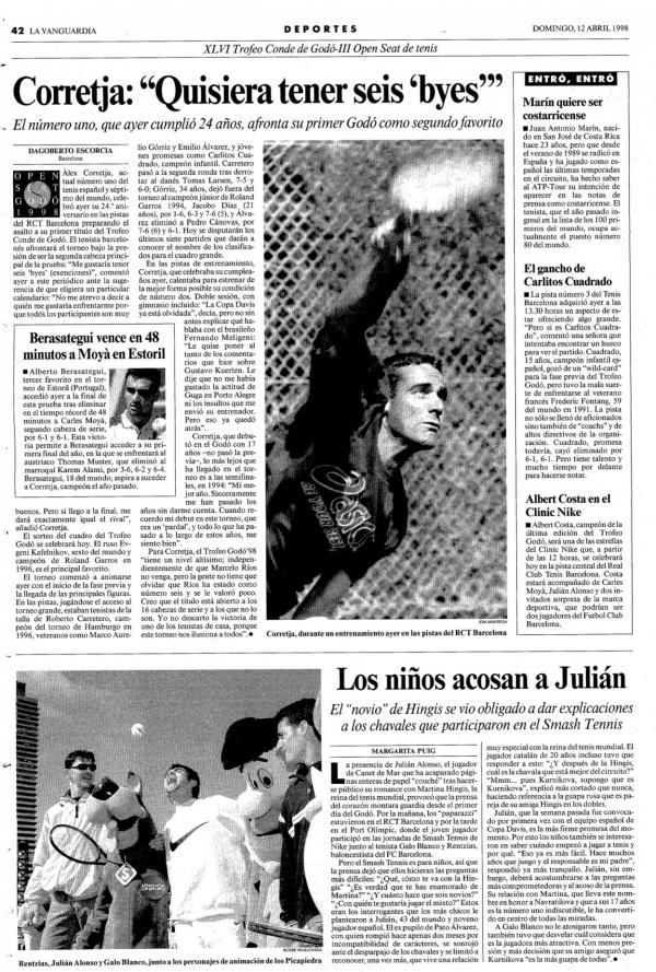 1998 La Vanguardia 12 abril