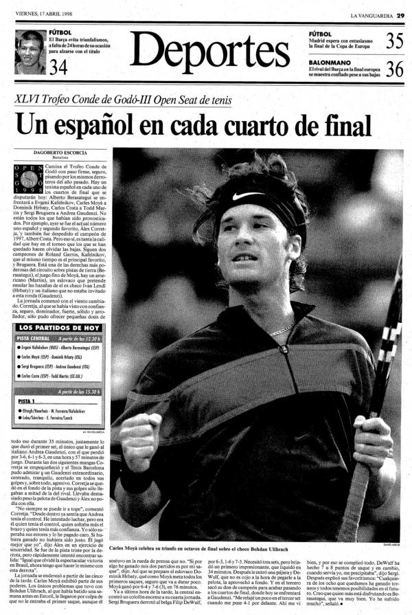 1998 La Vanguardia 17 abril