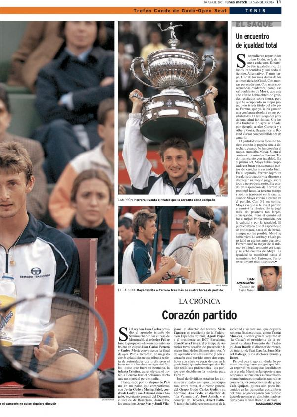 2001 La Vanguardia 30 abril