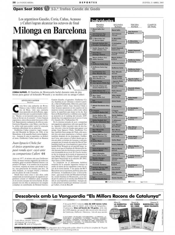 2005 La Vanguardia 21 abril