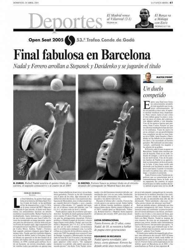 2005 La Vanguardia 24 abril
